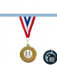 medaille closeup
